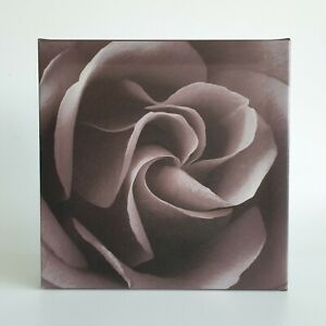Brown Floral Block Print Pictures Triple Set