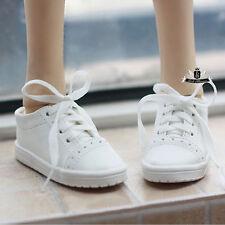 MSD 1/4 BJD Shoes Supper Dollfie white boots DREAM MID DOD AOD DZ AF SOOM LUTS