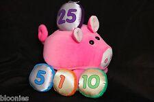 Melissa & Doug Pink Plush Toy Piggy Bank