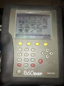 Trilithic  860 dspi Triple Play Cable Meter Docsis 3.0 1 GHz
