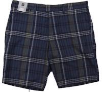 New Mens Marks & Spencer Blue Green / Yellow Shorts Waist 40 38 36 RRP £25