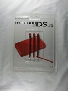 Genuine Nintendo DS Lite Red Stylus (pack of  3)