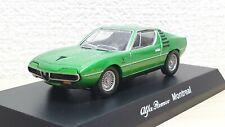 1/64 Kyosho ALFA ROMEO MONTREAL GREEN diecast car model