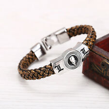 Hot Anime Death Note L & Skull Bracelet Wristband Cosplay Prop Gift