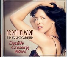ADRIANNA MARIE & GROOVECUTTERS  Double Crossing Blues  NewSealed BigBandBlues CD