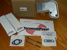 GENUINE Tecumseh muffler w/ bolts 34185B fits H70,H80,HHM80,HM100 snowblower