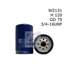 WESFIL OIL FILTER FOR Toyota 4 Runner  SR5  2.4L 1989-1992 WZ131
