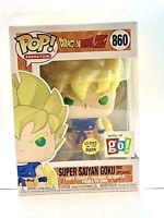 Funko POP! DRAGON BALL Z Super Saiyan Goku First Appearance GITD Exclusive