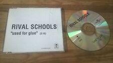 CD PUNK Rival Schools-used for glue (1) canzone PROMO Islanda SC