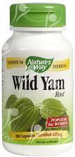 Wild Yam (Mexican) Nature's Way Premium Root 425mg x100