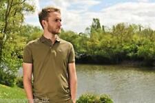 Camisas y camisetas de pesca de manga corta verdes