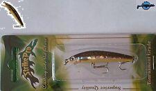 Leurre poisson nageur Dwarf Swing Minnow STRIKE PRO 5,3cm 2,3g XBBO pêche truite