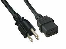 6ft Power Cord 14AWG 300V Rectangle C19 for APPLE Mac G5 Dual Core & Quad Core