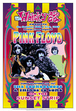 Pink Floyd at the  Whisky A Go Go Concert Poster 1967  13 3/4 x 19 3/4