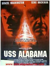 USS ALABAMA Crimson Tide Movie Poster / Affiche Cinéma DENZEL WASHINGTON HACKMAN