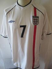 England Beckham 2001-2003 Home Football Shirt Size Extra large /34531