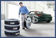 Genuine Porsche Carry Tire Totes Bags Set of 4 OEM Storage PNA50010019