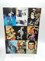 Vintage Uncut Skybox Star Trek Official Fan Club Promo Sheet Trading Cards 1994