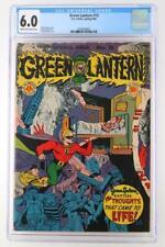 Green Lantern #15 - CGC 6.0 FN - DC 1945 - Golden Age!