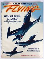 Flying Magazine (Nov 1951) Special US Naval Aviation, Korean War