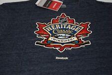Winnipeg Jets Reebok Nhl Heritage Classic T-Shirt Blue Small
