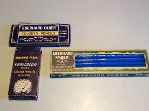 SET  VINTAGE EBERHARD FABER -- in ORIGINAL BOX--RARE