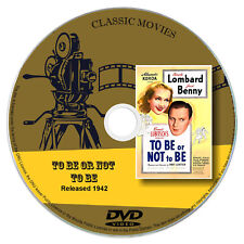 To Be Or Not To Be (1942) - Carole Lombard, Jack Benny - Comedy, War DVD