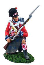 W Britain Napoleonic 36022 British 42nd Black Watch Highlander Kneeling Defendin