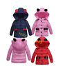 Cute Baby Kids Girls Hooded Winter Warm Coat Thick Jacket Outerwear Clothes New