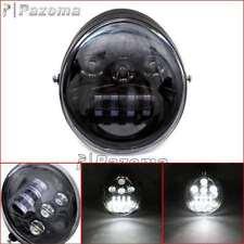 DOT Black Motorcycle LED Headlight Lamp For Harley VRSC VRSCA VRSCAW VRSCB VRSCF