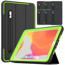 "For iPad 7th Generation 10.2"" Shockproof Leather Smart Case + Screen Protector"