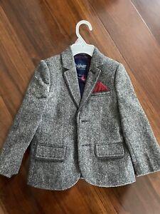 Ted Baker Toddler Boy Blazer, Size 3T Grey