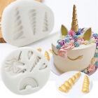 3D Unicorn Silicone Mould Fondant Chocolate Cake Decorating Baking Mold Tools US