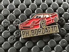 PINS PIN BADGE CAR FERRARI F 40 PH. BORDATTO