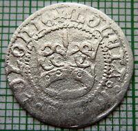 POLAND KINGDOM Aleksander Jagiellonczyk 1501 - 1506 1/2 GROSCH - POLGROSZ SILVER