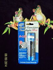 Atak Multi-Function 8 LED Flashlight with Laser - New in the Package