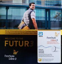 Freestyle libre 3 sensoren. Neue Generation so groß wie eine 5 Cent Münze OVP