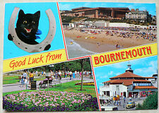 POSTCARD - BOURNEMOUTH - MULTI VIEWS  -  1990s