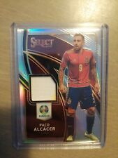 2020 select Uefa euro prizm silver paco Alcacer jersey