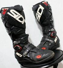 Sidi Crossfire 2 SRS Motocross Boots - Size 8.5 - Nice Condition! - Mx Gaerne