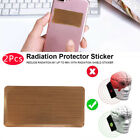 2Pcs Anti Radiation Protection Sticker EMF Protector Quantum Shield Cell C a +)