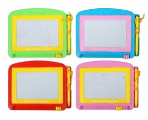 Travel Etch-A-Sketch Small Magnetic Doodle Drawing Board - Your Choice of Colors