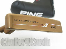 "Ping Karsten TR Pal Putter  Black Dot Slight ARC 35"" +Cover .. LEFT LH  MINT"