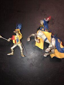 Plastoy 62018 KNIGHT & Horse Figurine A3