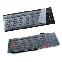 Universal Silicone Desktop Computer Keyboard Cover Skin Protector Film CoverG t