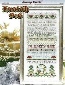 Isaiah 9:6 LFT494 by Stoney Creek cross stitch pattern