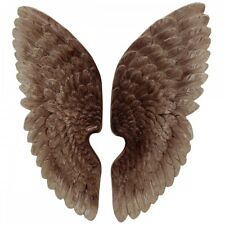 Angel Wings 70cm Wall Hanging Antique Style Copper Colour Left Right.Impressive.