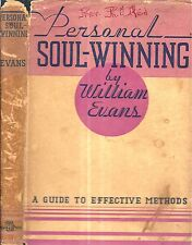 1910 CHRISTIAN PERSONAL SOUL WINNING WITH DUST JACKET SINNERS