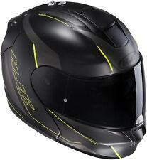 HJC RPHA Max Evo Dorgon Flip up helmet Col. black/yellow size M