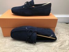 $595 New Tods Mens Gommino Shoes Loafers Dark Blue 7 US 6 EU